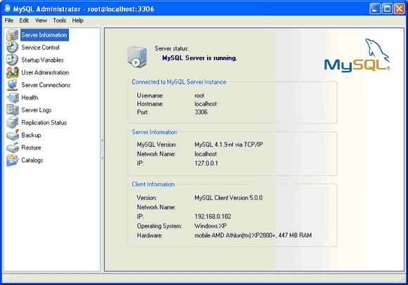 MySQLAdmin1