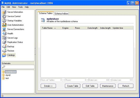 MySQLAdmin5