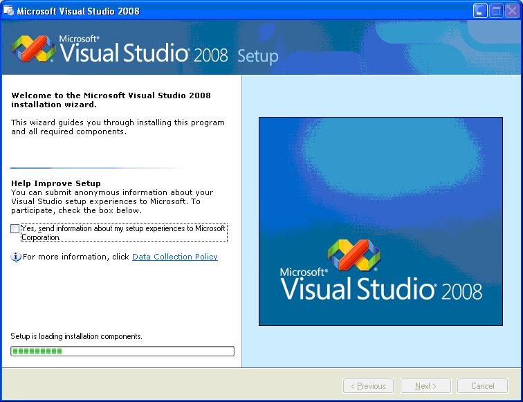 how to download and install visual studio 2008